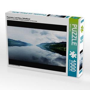 Panorama, Loch Ness, Schottland 1000 Teile Puzzle quer