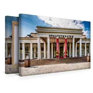 Premium Textil-Leinwand 45 cm x 30 cm quer Wiesbaden