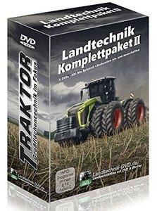 Landtechnik Komplettpaket 2: Traktor - Großflächentechnik im Fok