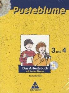 Pusteblume. Das Arbeitsbuch Sachunterricht 3 / 4. Schleswig-Hols