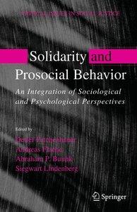 Solidarity and Prosocial Behavior
