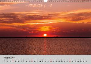 OSTFRIESLAND Strand und Mee(h)r (Wandkalender 2019 DIN A3 quer)