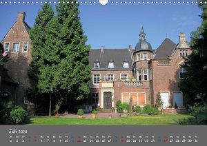 Düsseldorfer Burgen und Schlösser (Wandkalender 2020 DIN A3 quer