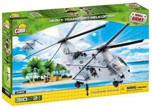 COBI 2365 - Heavy Transport Helicopter, Small Army, grau
