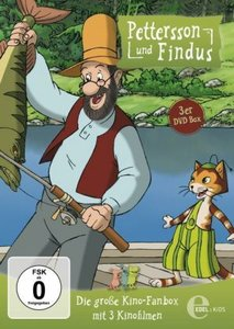 Pettersson & Findus, 3 DVDs (Buchandelsedition, Kino-Fanbox)
