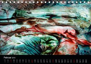 Wachs-Mal-ART encaustic Landschaften (Tischkalender 2019 DIN A5