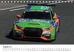 Die Vier Ringe im Motorsport (Tischkalender 2019 DIN A5 quer)