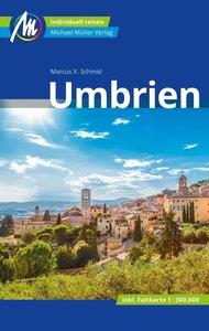 Umbrien Reiseführer Michael Müller Verlag, mit 1 Karte