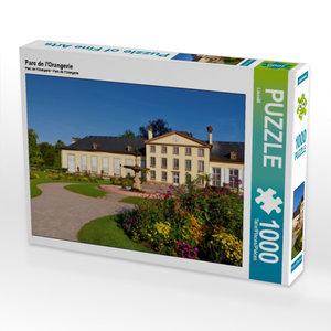 Parc de l\'Orangerie 1000 Teile Puzzle quer