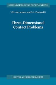 Three-Dimensional Contact Problems