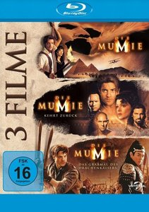 Die Mumie Trilogie - 3 on 1, 1 Blu-ray