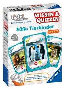 Wissen & Quizzen: Süße Tierkinder tiptoi Spiele/Puzzles