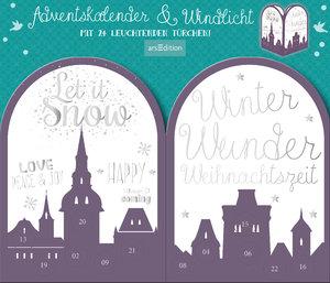 """Adventskalender & Windlicht """"Twinkle twinkle little star"""""""