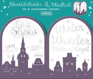 "Adventskalender & Windlicht ""Twinkle twinkle little star"""