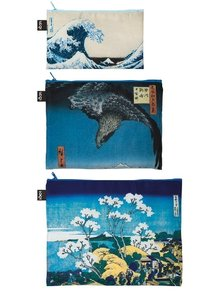Zip Pocket MUSEUM Hokusai