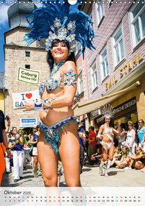 Samba-Festival Coburg - Brasilien-Feeling in Europa (Wandkalende