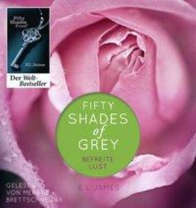 Fifty Shades of Grey. Befreite Lust, 2 Teile, MP3-CD