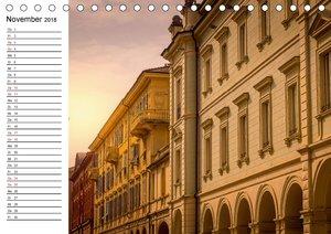 Piemont und Turin (Tischkalender 2018 DIN A5 quer)