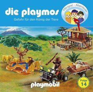 Die Playmos - Gefahr für den König der Tiere, 1 Audio-CD
