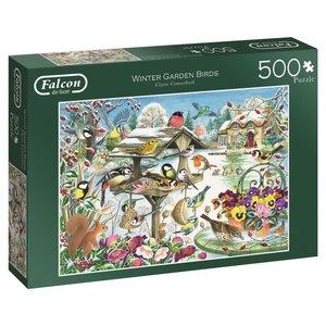 Winter Garden Birds - 500 Teile Puzzle