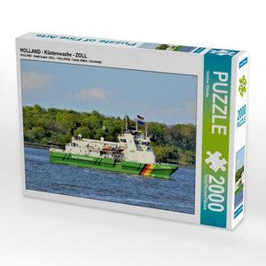 CALVENDO Puzzle HOLLAND - Küstenwache - ZOLL 2000 Teile Lege-Grö
