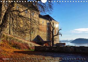 Oslo - Norwegen (Wandkalender 2020 DIN A4 quer)