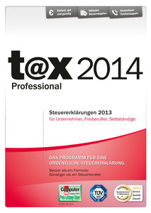 t@x 2014 Professional (für Steuerjahr 2013) - Steuererklärungen