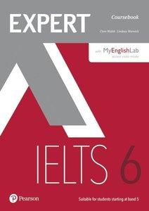 Expert IELTS 6 Coursebook with Online Audio and MyEnglishLab Pin