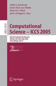 Computational Science -- ICCS 2005