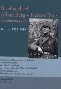 Briefwechsel Alban Berg - Helene Berg Teil 2
