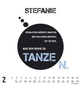 Namenskalender Stefanie