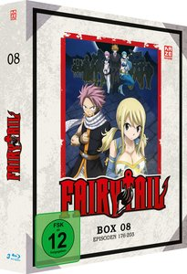 Fairy Tail - TV-Serie - Box 8 (Episoden 176-203)