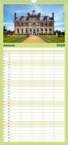 Englische Herrenhäuser - Familienplaner hoch (Wandkalender 2020