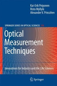 Optical Measurement Techniques