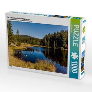 Der Fichtelsee im Fichtelgebirge 1000 Teile Puzzle quer