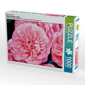 Ein Motiv aus dem Kalender Rosen einfach schön 1000 Teile Puzzle