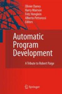 Automatic Program Development
