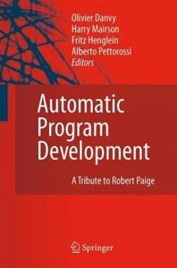 Automatic Program Development