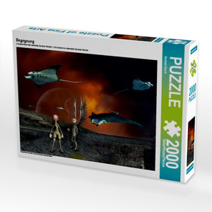 Begegnung 2000 Teile Puzzle quer