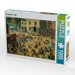 CALVENDO Puzzle Kinderspiele - 1560 1000 Teile Lege-Größe 64 x 4