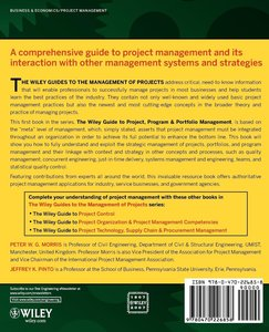 The Wiley Guide to Project Program and Portfolio Management