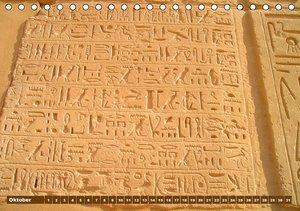 Ägypten . Impressionen (Tischkalender immerwährend DIN A5 quer)