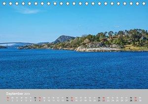 Skandinavien - Fjorde, Schären und Meer... (Tischkalender 2019 D