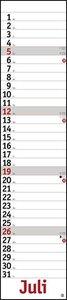 Planer long, rot Kalender 2020