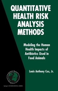 Quantitative Health Risk Analysis Methods