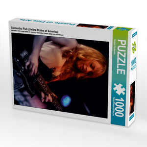 Samantha Fish (United States of America) 1000 Teile Puzzle hoch