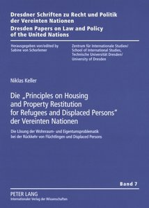 Die «Principles on Housing and Property Restitution for Refugees