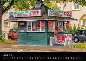 Kölsche Veedelskultur. Büdchen, Kioske und Trinkhallen. (Wandkal