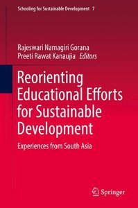 Reorienting Educational Efforts for Sustainable Development