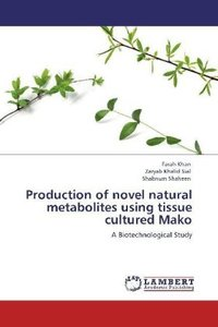 Production of novel natural metabolites using tissue cultured Ma